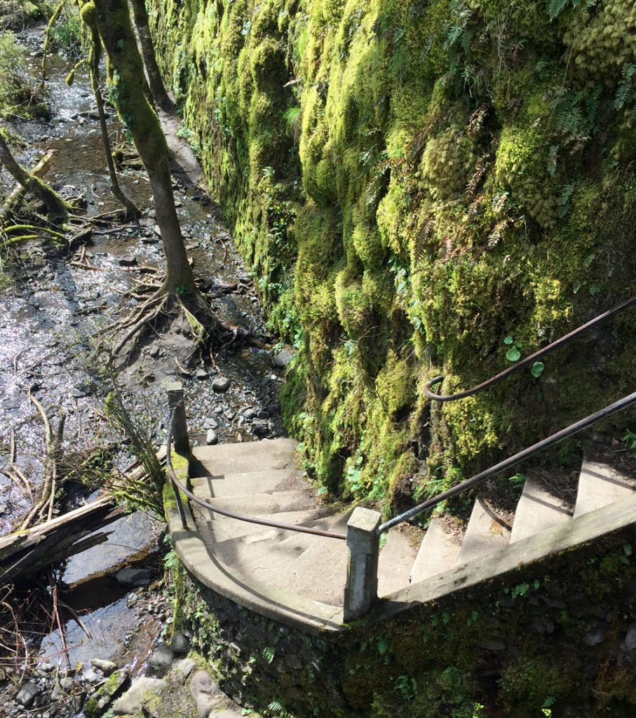 Oneonta_Falls_Stair